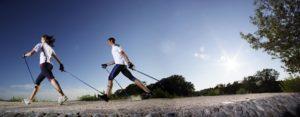 Camminata con bacchette