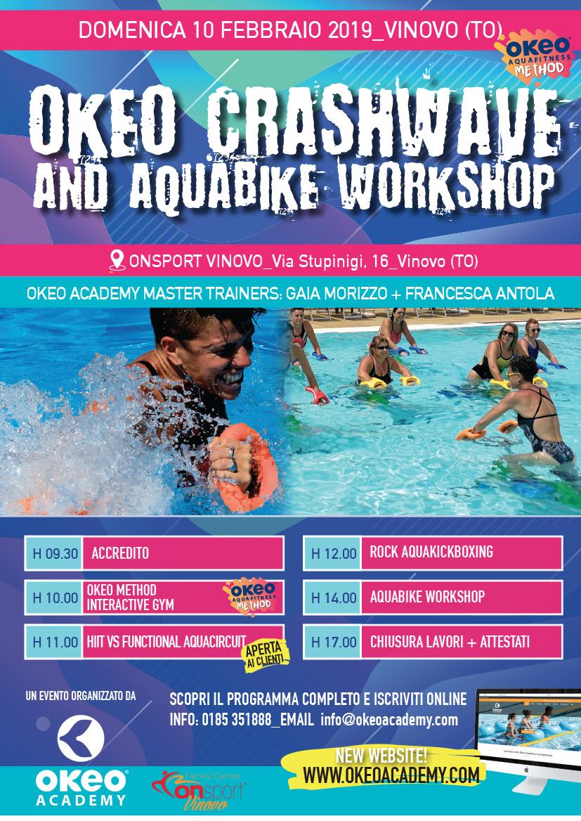 Masterclass OKEO & Aquabike - Vinovo