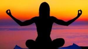 Immagine Yoga su spiaggia