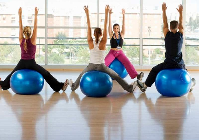 Fitball-workout