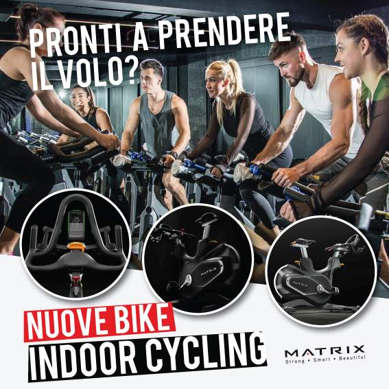 Nuove bici Indoor Cycling Vinovo