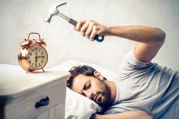 Sveglia al mattino fastidiosa