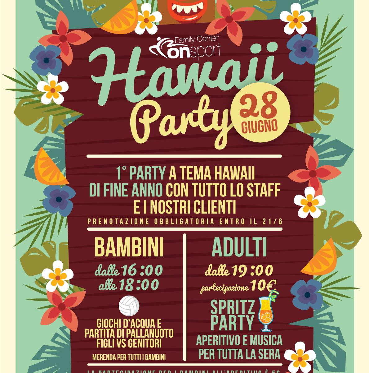 Hawaii party - 28 giugno - Vinovo
