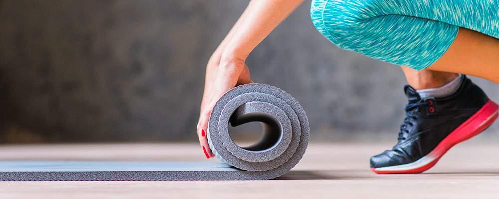 Arrotolamento tappetino