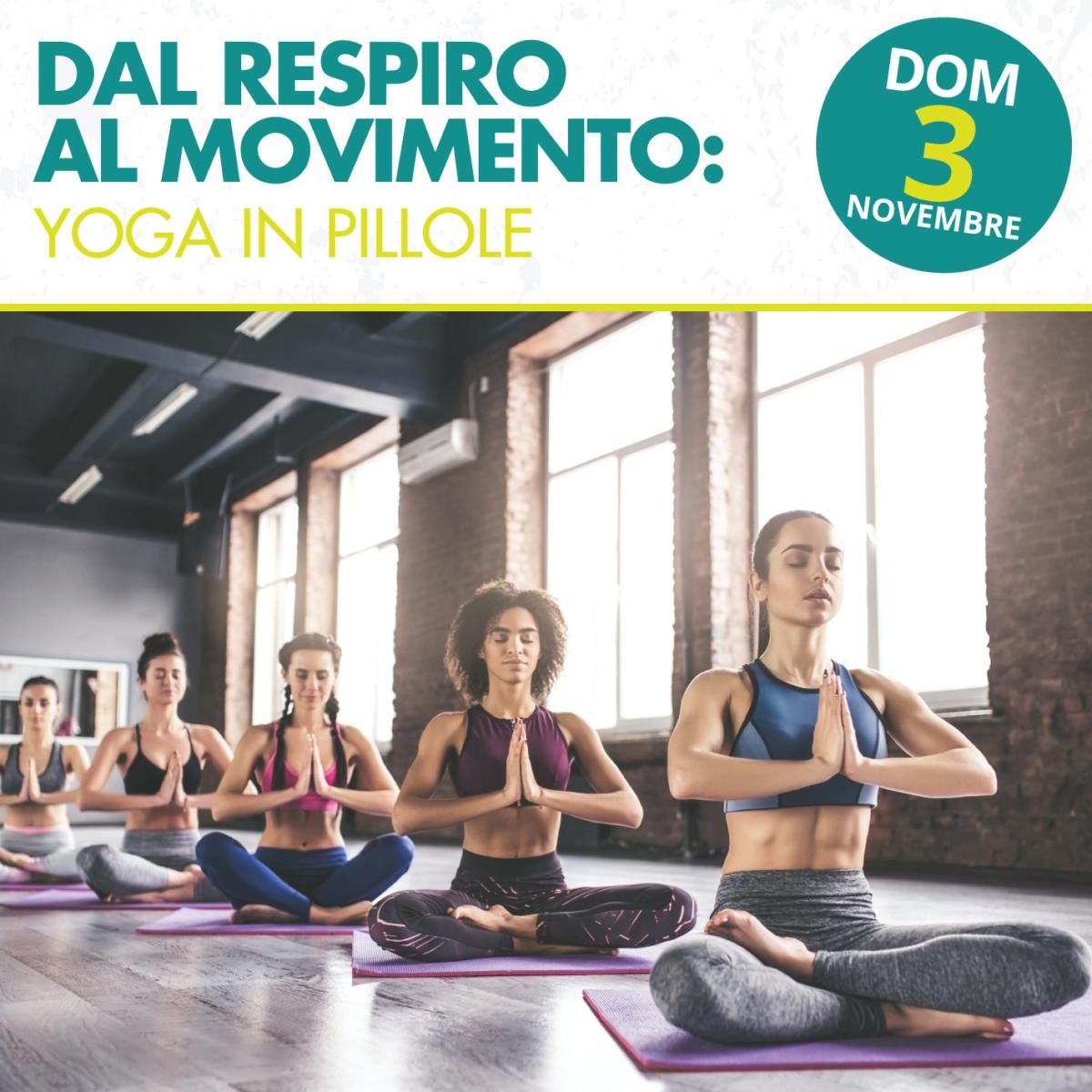 Workshop gratuito Yoga - Aperto a tutti
