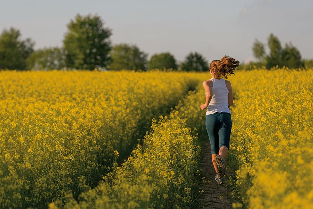 Corsa in campo di fiori - OnSportCenter