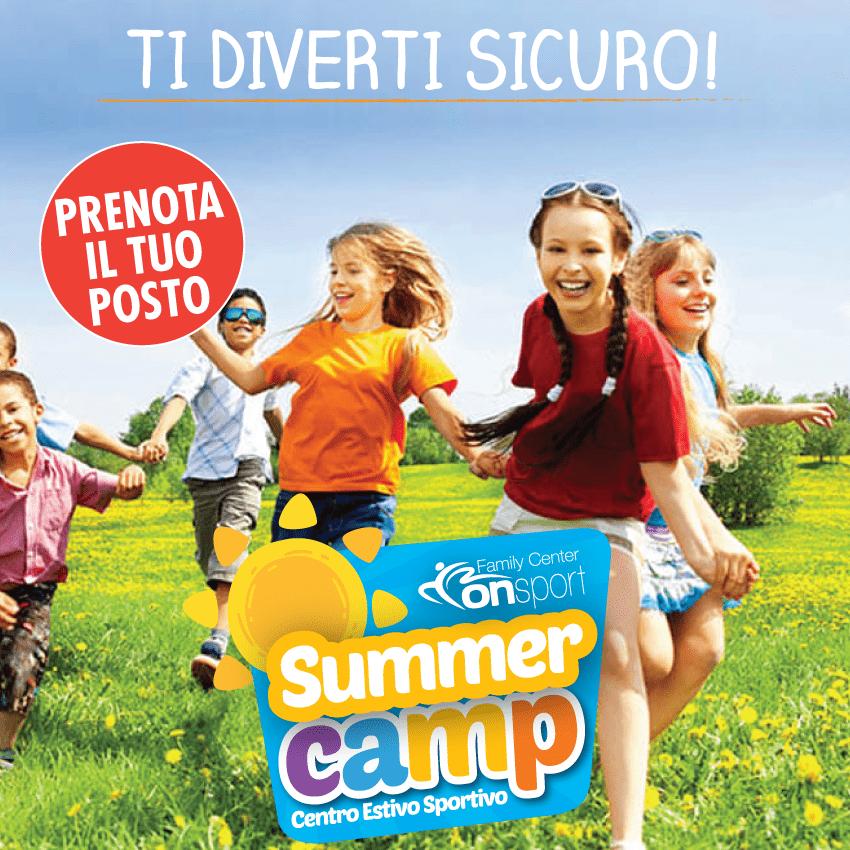 Centro Estivo Summer Camp. Il posto sicuro dove lasciare i tuoi bambini.