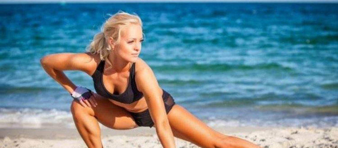 Allenamento spiaggia